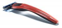 Rasierer X1 Cooper Red mit Gillette Fusion Klinge